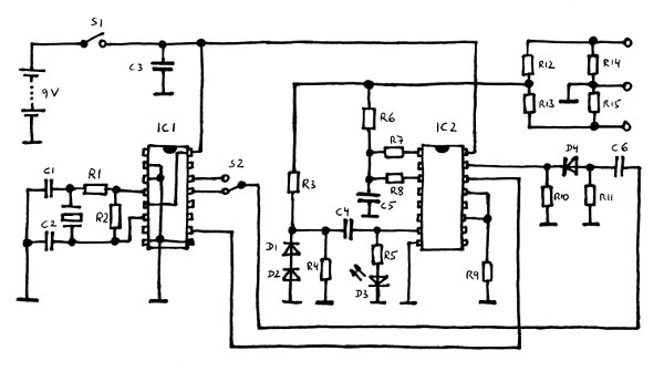 ecg simulator circuit diagram  zen diagram, wiring diagram