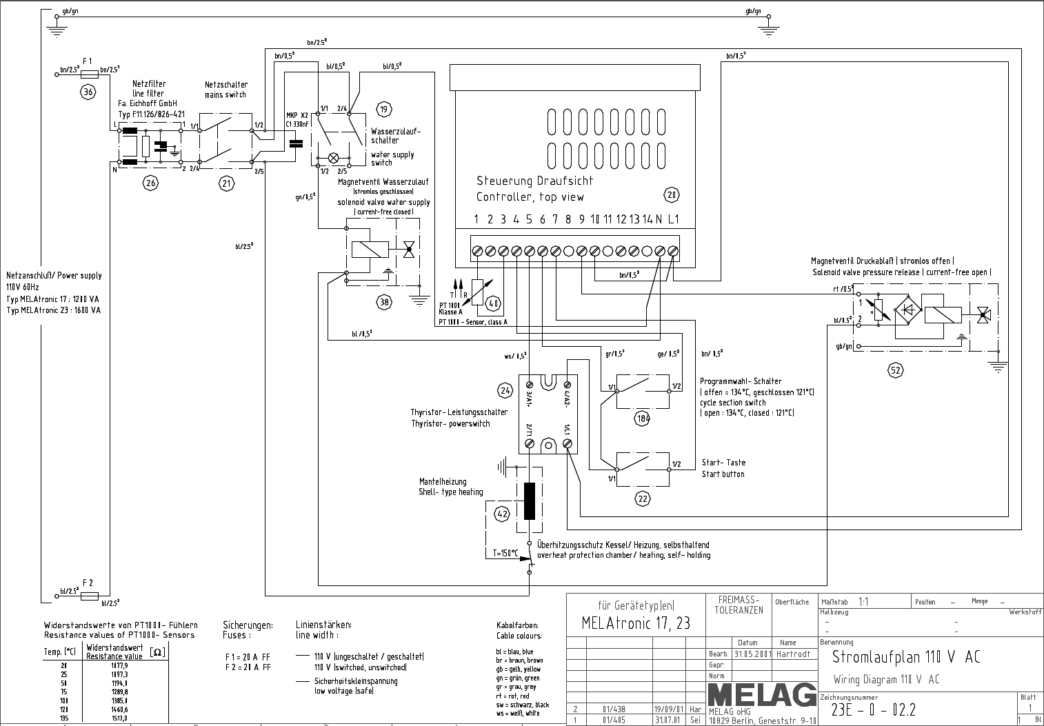 Franks Autoclaves Free Download Prestige Wiring Diagram Melag Melaquick 12 Pipe 100 Kb